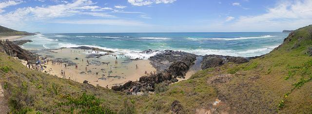 Australien Visum champagne Pools-
